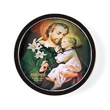 St Joseph Guardian of Jesus Wall Clock