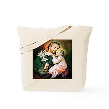 St Joseph Guardian of Jesus Tote Bag
