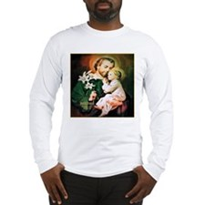 St Joseph Guardian of Jesus Long Sleeve T-Shirt