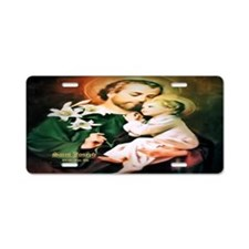St Joseph Guardian of Jesus Aluminum License Plate