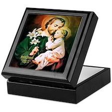 St Joseph Guardian of Jesus Keepsake Box