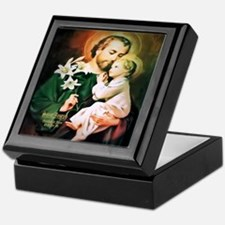 St Joseph Guardian of Jesus Keepsake Box