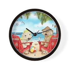 Loving Key West Wall Clock
