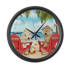Loving Key West Large Wall Clock
