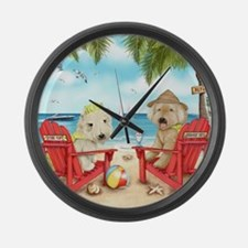 Loving Key West Large Wall Clock