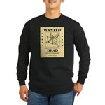 Wanted Cupid Long Sleeve Dark T-Shirt