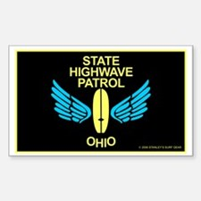 Ohio Highwave Patrol Rectangle Decal