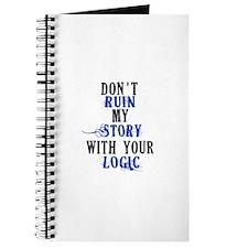 Don't Ruin My Story (v2) Journal