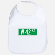 W 42 St., New York - USA Bib