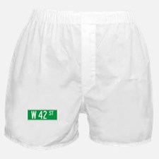 W 42 St., New York - USA Boxer Shorts