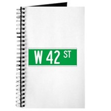W 42 St., New York - USA Journal