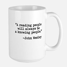 Wesley's Reading People Mug