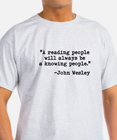 Wesley's Reading People T-Shirt