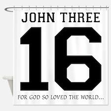 John316 copy Shower Curtain
