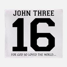 John316 copy Throw Blanket