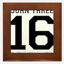 John316 copy Framed Tile