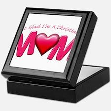 GladImChristianMom copy Keepsake Box