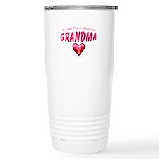GladImChristianGrandma copy Travel Mug