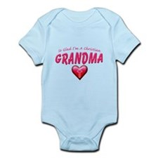 GladImChristianGrandma copy Body Suit