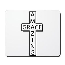 AmazingGrace(cross) copy Mousepad