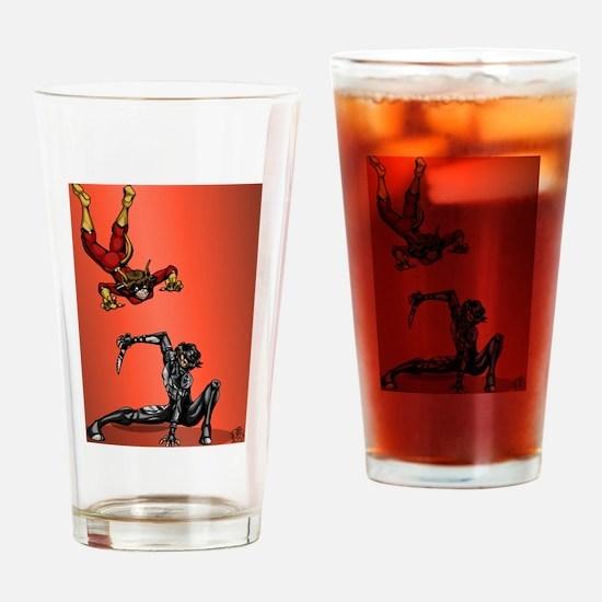 Aardvark vs Arma Drinking Glass
