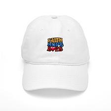 FaithHopeLove copy Baseball Baseball Cap