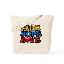 FaithHopeLove copy Tote Bag
