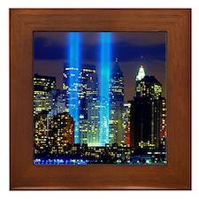 911 Memorial Framed Tile
