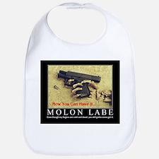 Molon Labe even now Bib