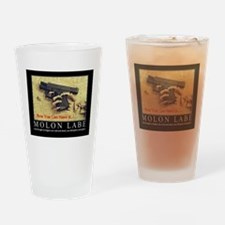 Molon Labe even now Drinking Glass