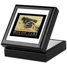 Molon Labe even now Keepsake Box