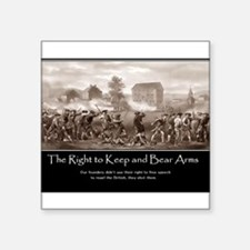 The Right to Keep and Bear Arms Sticker