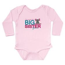 Big Sister Again Long Sleeve Infant Bodysuit