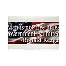 Man is not free unless Government is limited Recta
