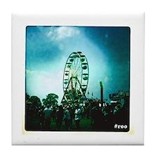 Roo Ferris Wheel Tile Coaster