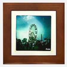 Roo Ferris Wheel Framed Tile