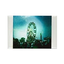 Roo Ferris Wheel Rectangle Magnet