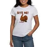 Bite Me Turkey Women's T-Shirt