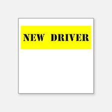 NEW DRIVER Sticker