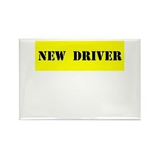 NEW DRIVER Rectangle Magnet