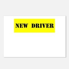 NEW DRIVER Postcards (Package of 8)