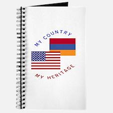 Armenia USA Flag Heritage Journal