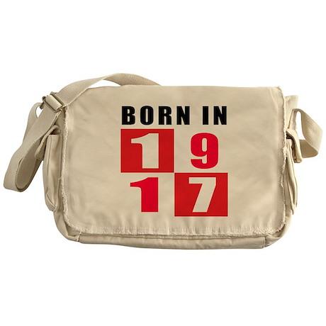 Born In 1917 Messenger Bag