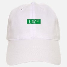 E 42 St., New York - USA Baseball Baseball Cap