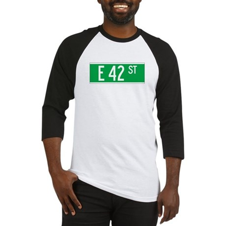 E 42 St., New York - USA Baseball Jersey