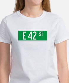 E 42 St., New York - USA Tee