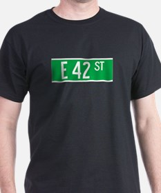 E 42 St., New York - USA T-Shirt