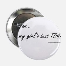"Girl Best Toy 2.25"" Button"
