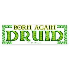 Born Again Druid Bumper Bumper Sticker