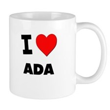 I Love Ada Mug